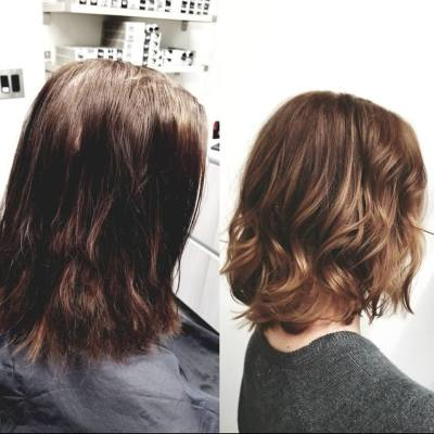 Sunkissed Balayage Box Color - Color Correction